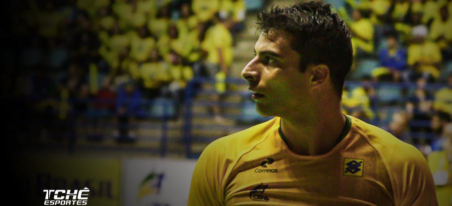 Felipe Borges testa positivo para a Covid-19