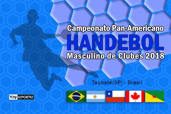Pan-Americano Masculino de Clubes 2018 (arte Tchê Esportes)