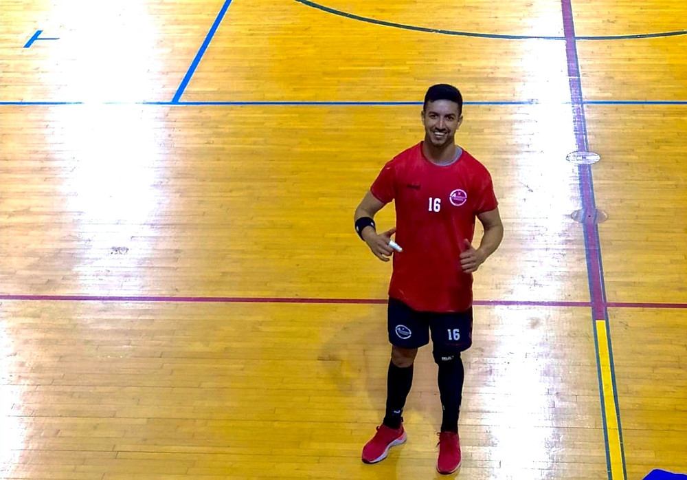 Um brasileiro em Portugal (foto arquivo pessoal)