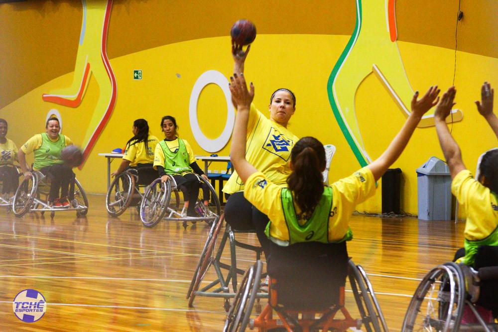 Seleção Brasileira Feminina de Handebol em Cadeira de Rodas (HCR)