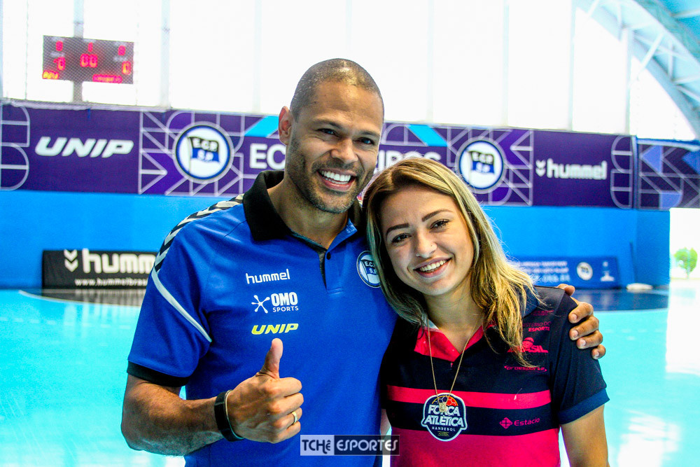 Marcão, goleiro do EC Pinheiros-SP. (foto André Pereira / Tchê Esportes)