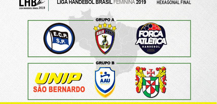 Seis times disputam o título da Liga Brasil Handebol Feminina 2019