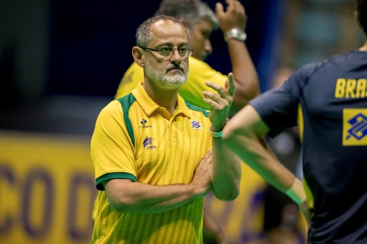 Washington Nunes, técnico da Seleção Brasileira de Handebol Adulta Masculina. (foto divulgação CBHB)