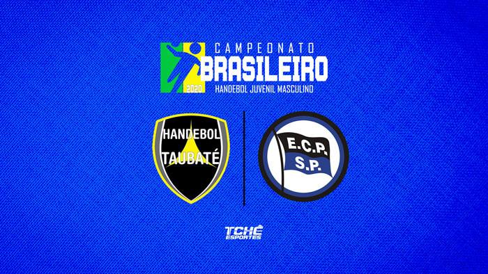 Paulistas fazem final do Brasileiro de Handebol Juvenil Masculino