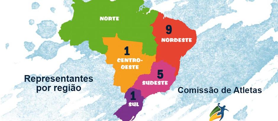 Nordeste tem maioria na Comissão de Atletas da CBHb