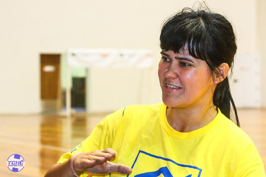 Dayana Moraes Lopes, pivô do ICED (Balneário Camboriú/SC)