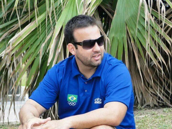 Marcio Magliano, técnico da Seleção Brasileira de Handebol de Areia Feminino. (foto arquivo pessoal)