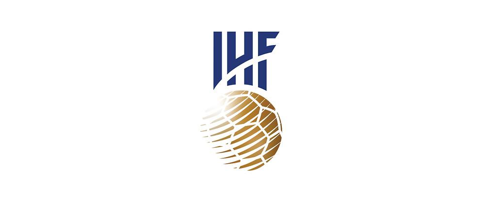 novo logotipo da IHF (Federação Internacional de Handebol)