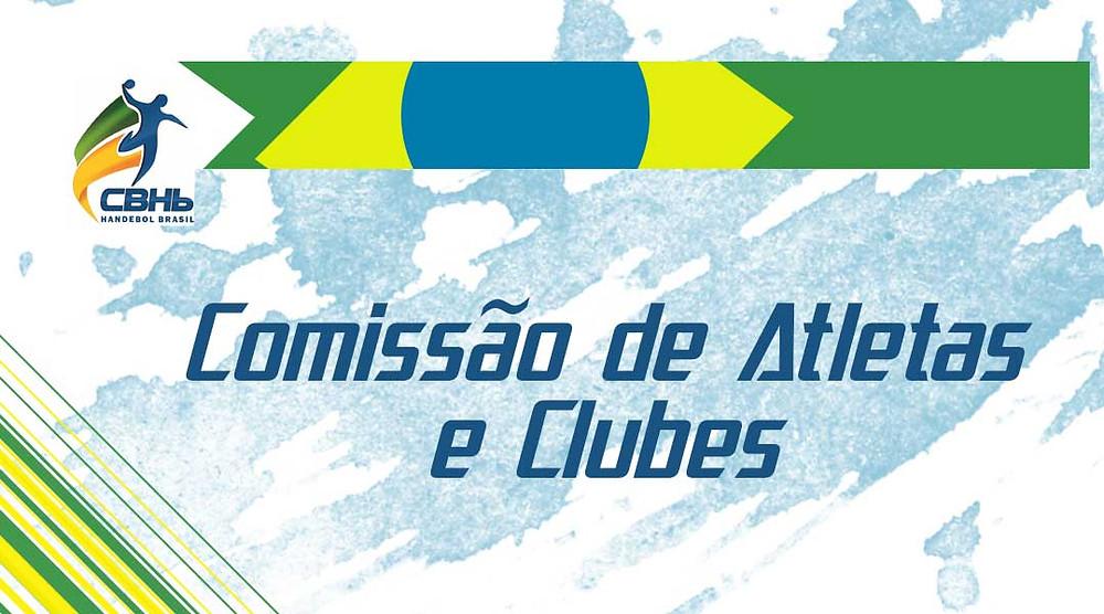 Comissão de Atletas e Clubes da CBHB (arte Tchê Esportes)