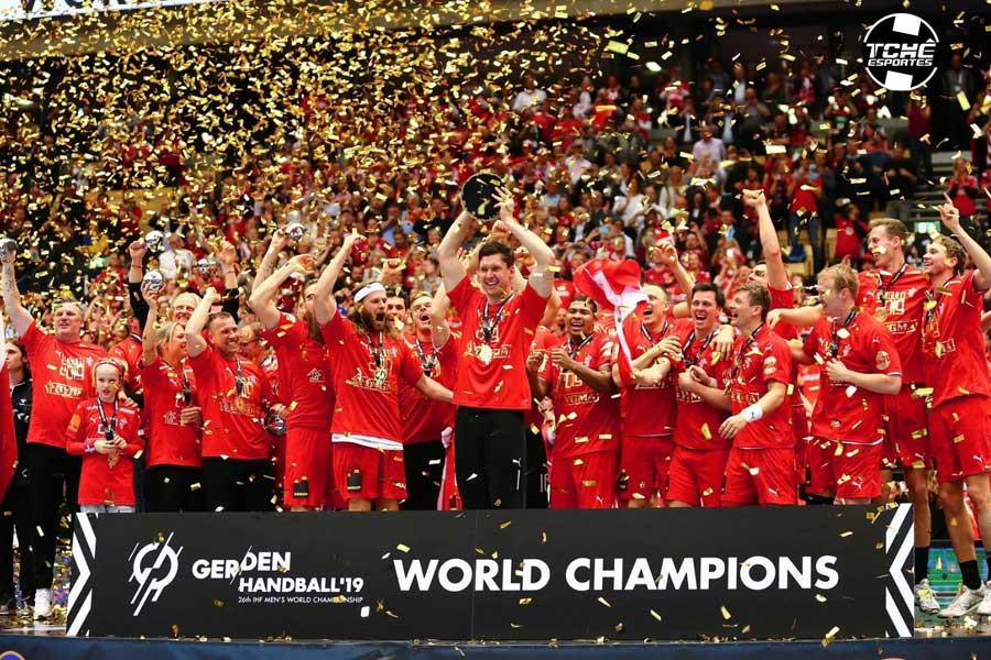 Dinamarca é Campeã do Mundial 2019 (foto divulgação IHF)