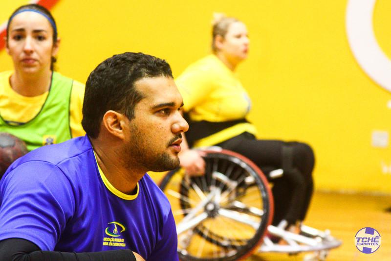 Samuel Macena, técnico da Seleção Brasileira Feminina de Handebol em Cadeira de Rodas