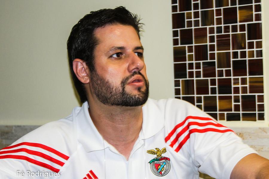 Diego Melo, professor e autor do livro Teoria e Prática do Mini-Handebol. (foto Fê Rodrigues / Tchê Esportes)