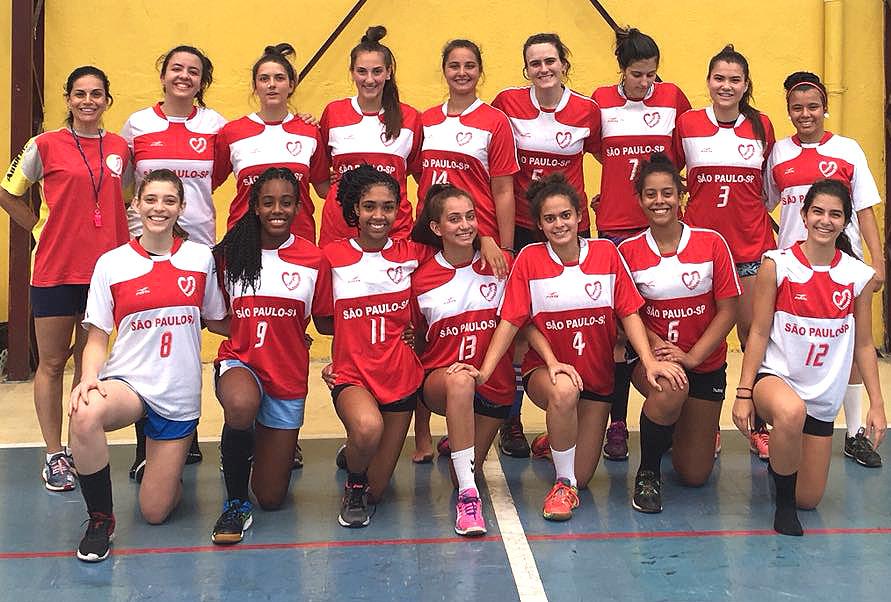 Atletas do Colégio Amorim (SP). (foto divulgação)