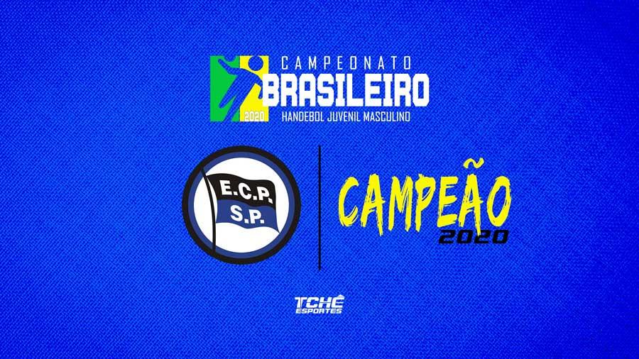 Pinheiros é campeão do Brasileiro Juvenil Masculino de Handebol