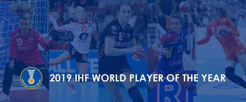 Melhor Jogador do Mundo IHF 2019 (arte IHF)