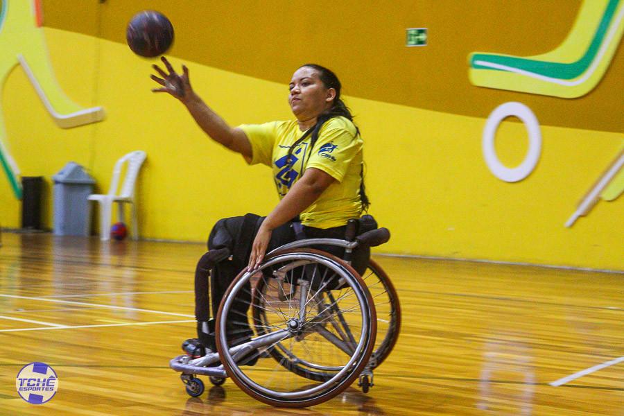 Shirlei Cátia, atleta do Adesul (Fortaleza/CE)