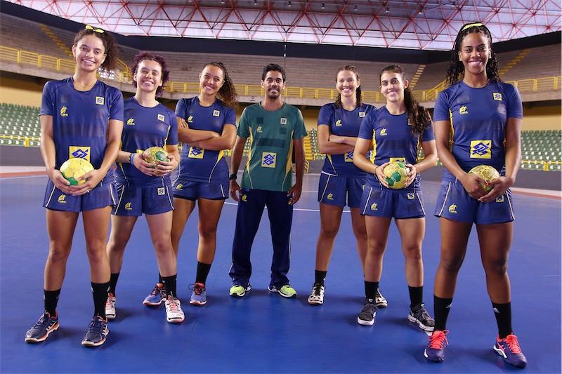 Pan-americano de Handebol Júnior Feminino 2018 (Foto  Randes Nunes)