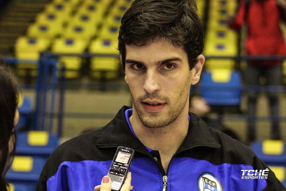 Alex Aprile, técnico do EC Pinheiros - SP (foto arquivo Tchê Esportes)