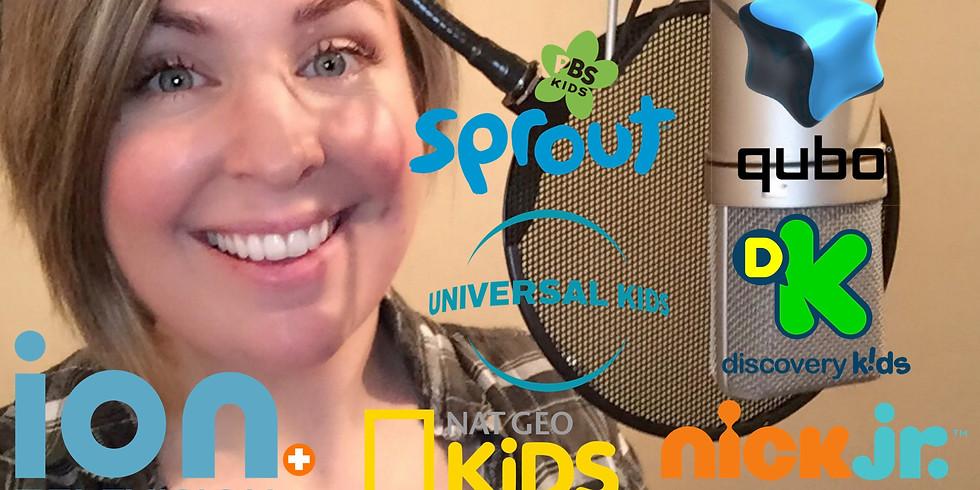 Promo Voice Over for Children's TV Networks & Family Entertainment - NYC/Soundvine Studios