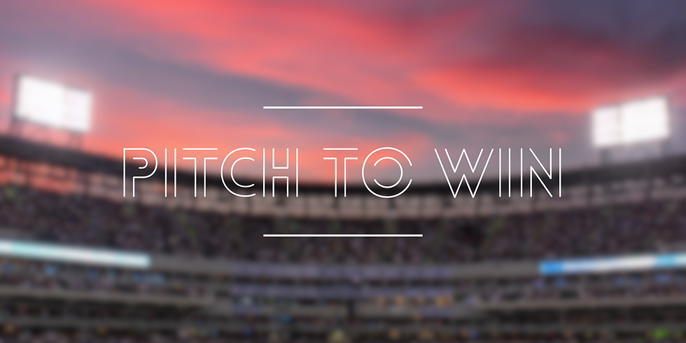 FREE WEBINAR - Pitch to Win: Tips on How To Take the Mound for Free Media Coverage