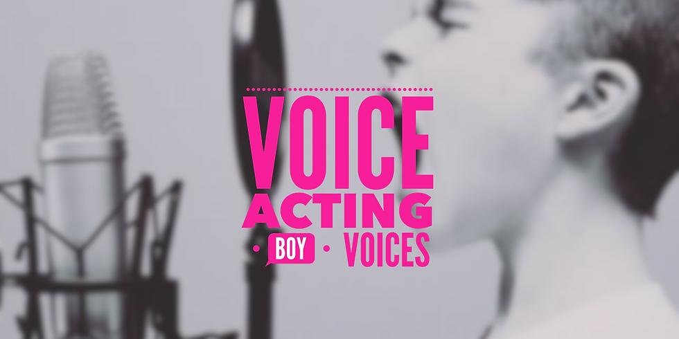 Voice Acting: Boy Voices