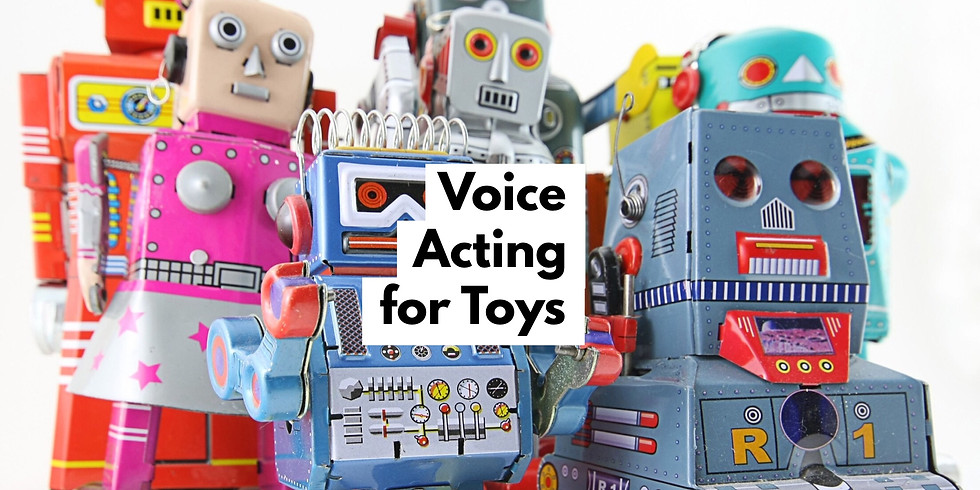 Voice Acting for Toys