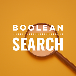 Boolean Search Skills