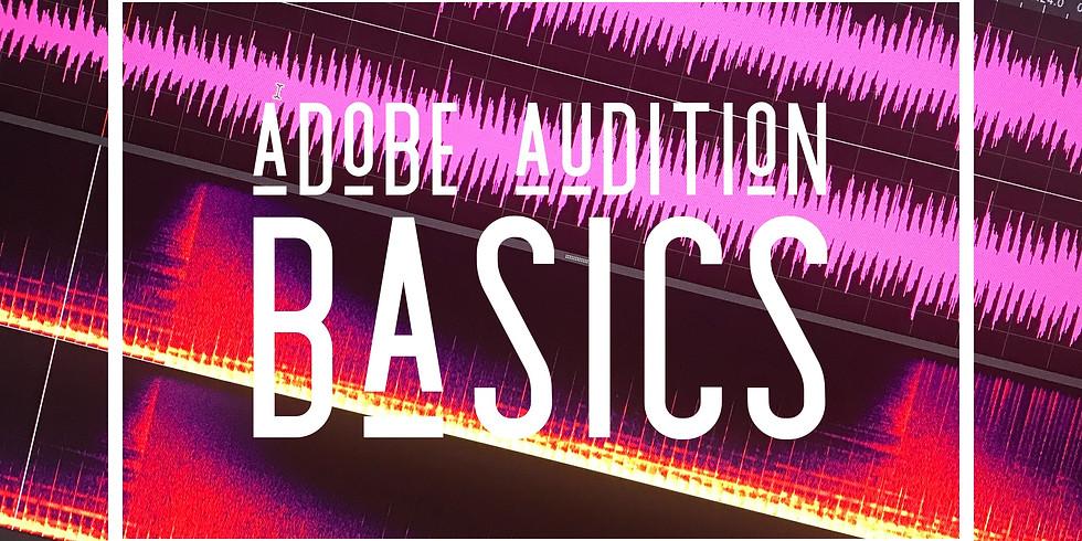 FREE WEBINAR: Adobe Audition Basics