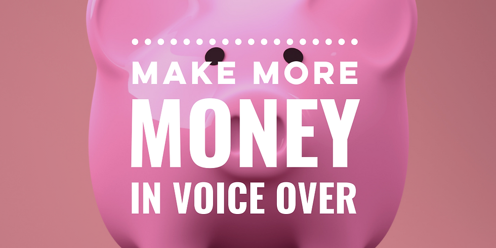 Make (more) Money in Voice Over