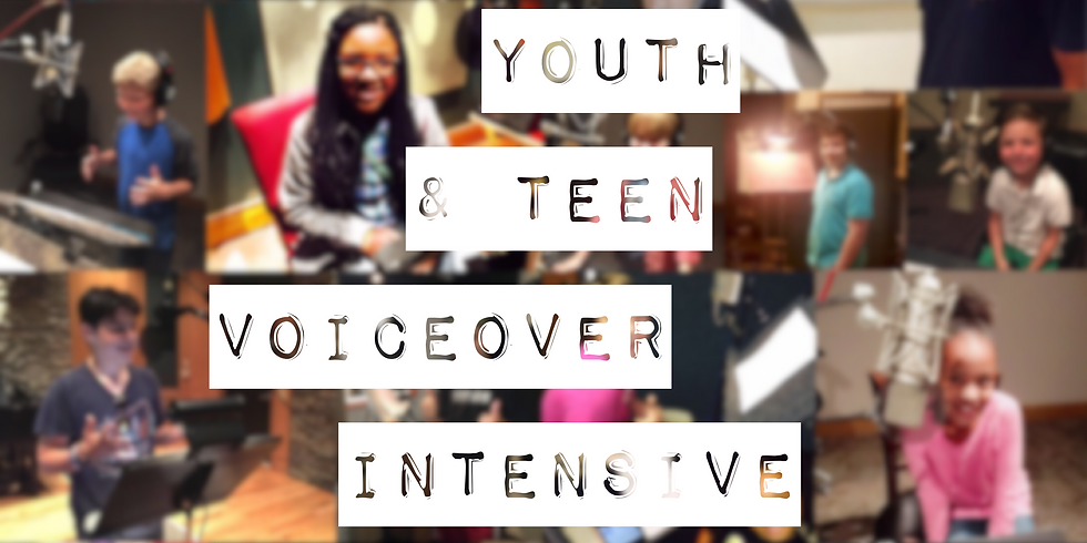 Nashville Youth & Teen Voiceover Intensive