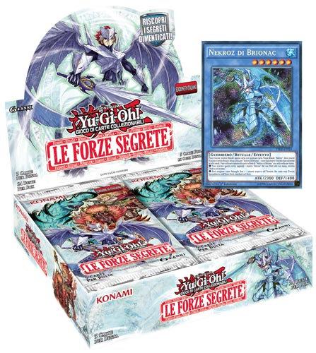 BOX YU-GI-OH! LE FORZE SEGRETE (24 Buste)