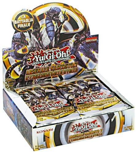 BOX YU-GI-OH! ARSENALE NASCOSTO 7: CAVALIERE DELLE STELLE UNLIMITED