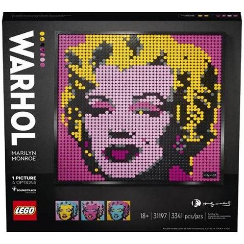 LEGO POP ART: ANDY WARHOL'S MARILYN MONROE
