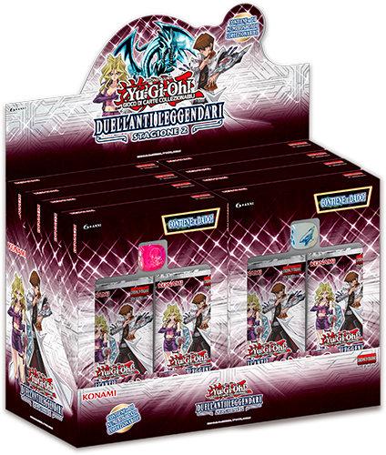BOX YU-GI-OH! - DUELLANTI LEGGENDARI: STAGIONE 2 (8 PACK)