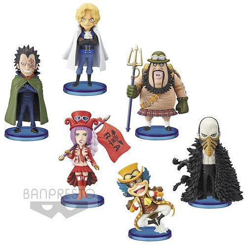 ONE PIECE - REVOLUTIONARY ARMY - SET 72 PZ