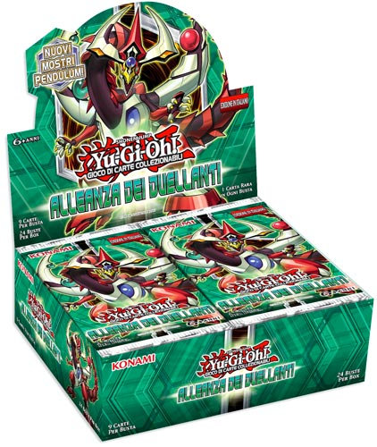 BOX YU-GI-OH! ALLEANZA DEI DUELLANTI(24 Buste)