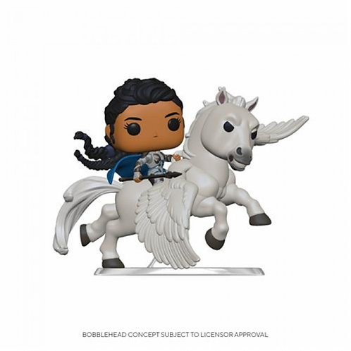MARVEL AVENGERS ENDGAME: RIDES VALKYRIE ON HORSE - FUNKO POP FIGURE
