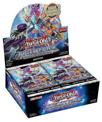 BOX YU-GI-OH! DUELIST PACK GUARDIANI DIMENSIONALI (36 Buste)