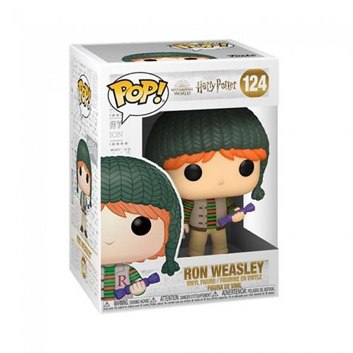 HP HOLIDAY: RON - FUNKO POP FIGURE 124