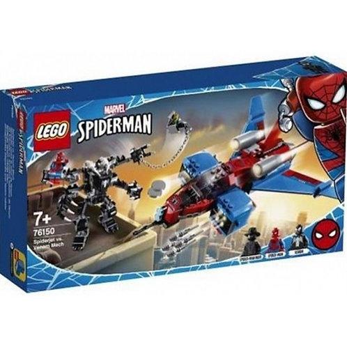 MARVEL SUPER HEROES: SPIDERJETVS MECH VENOM