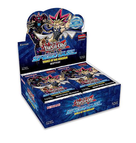 BOX YU-GI-OH! SPEED DUEL PACK PROVE DEL REGNO (36 Buste)