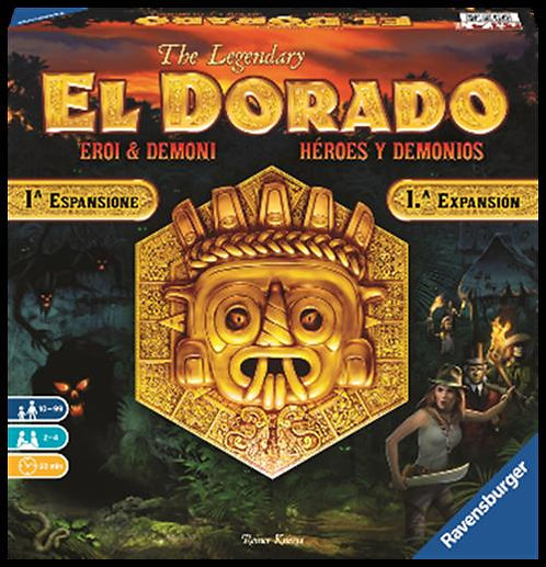 EL DORADO - EROI E DEMONI - ESPANSIONE