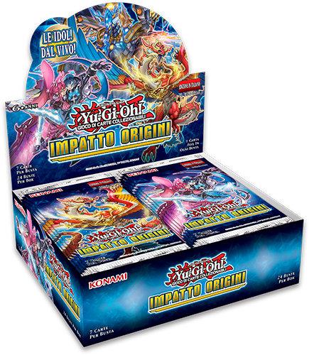 BOX YU-GI-OH! IMPATTO ORIGINI (24 Buste)