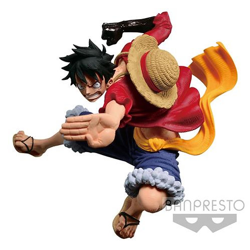 ONE PIECE - SCULTURES BIG ZOUKEIO 6 VOL.3 - MONKEY D. LUFFY