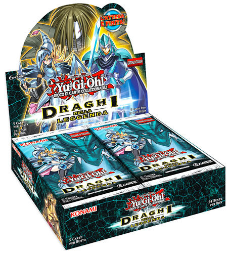 BOX YU-GI-OH! - DRAGHI DELLA LEGGENDA