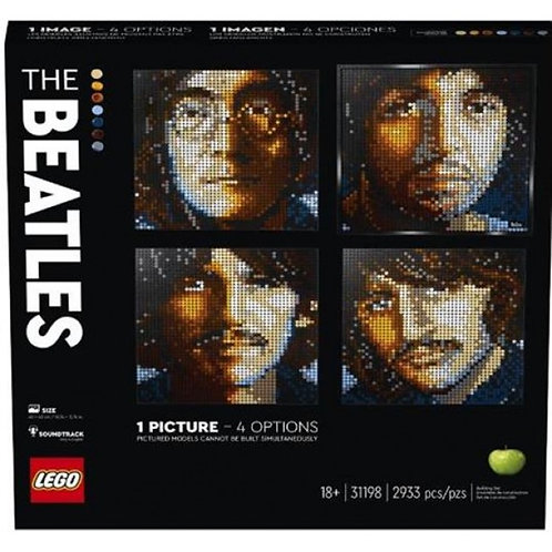 LEGO POP ART: THE BEATLES