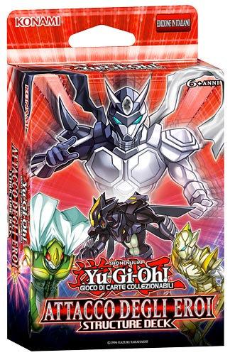 YU-GI-OH! STRUCTURE DECK: ATTACCO DEGLI EROI