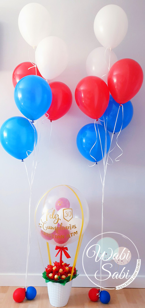 Ballon Flow Bombones
