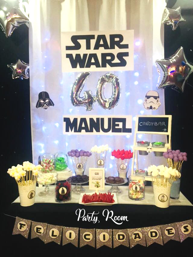 Cumple 40 Star Wars