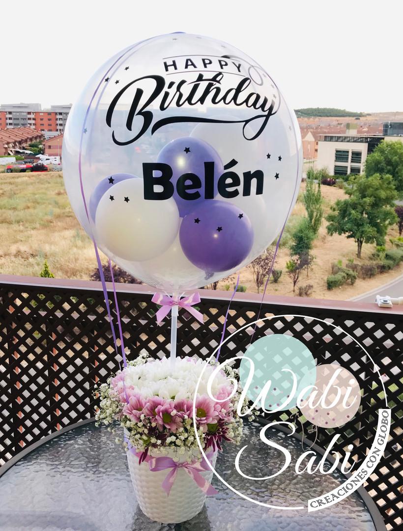 Ballon Flow Flores